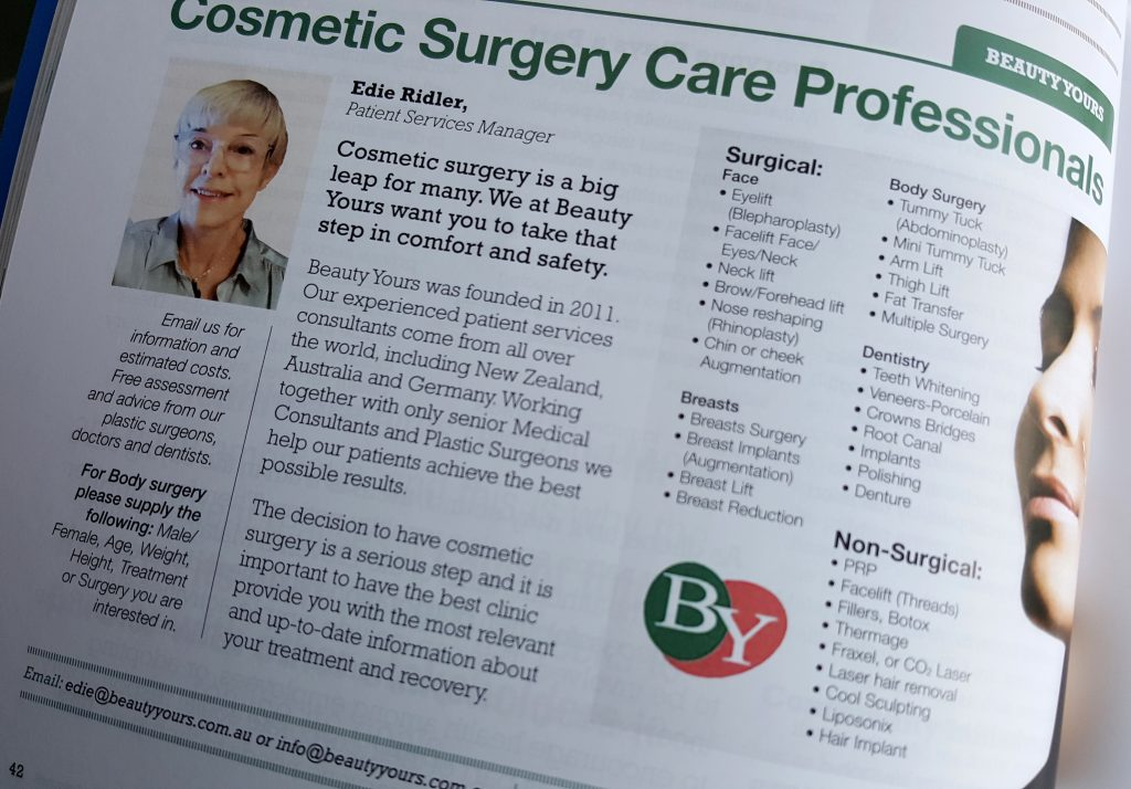Beauty Yours-Cosmetic Surgery Care Professionals